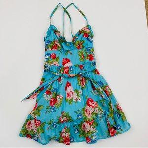 Abercrombie Kids XL sundress floral blue